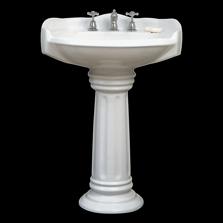 The Aquina Pedestal and Basin set is perfect for you if you have limited space or just looking for a traditional styled basin. This basin needs a split 32/40mm waste as it has an overflow to prevent bathroom spills. It's white porcelain is glazed in a nano glaze which means its smaller pores are less likely to get dirty and thus needs less cleaning than normal porcelain.  This basin has 3 predrilled tapholes for a basin mounted spout and taps combination.