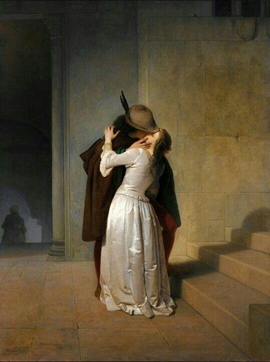 Francesco Hayez - Il bacio - Seconda versione, 1861