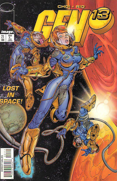 Lost In Space __Written By Brandon Choi , Art By Al Rio, Cover Art J.Scott Campbell & Alex Garner