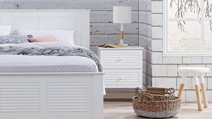 Home :: Bedroom :: Bedroom Furniture :: Bedside Tables :: Beach Comber 2 Drawer Bedside Table