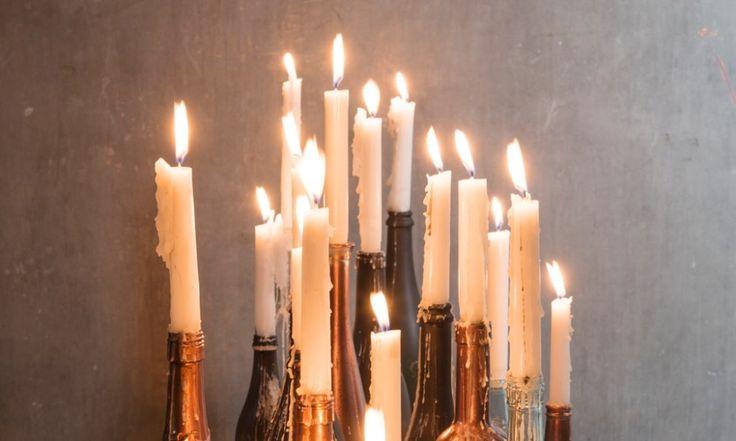Libelle Kerst Atelier: van wijnfles tot kandelaar   libelle.nl