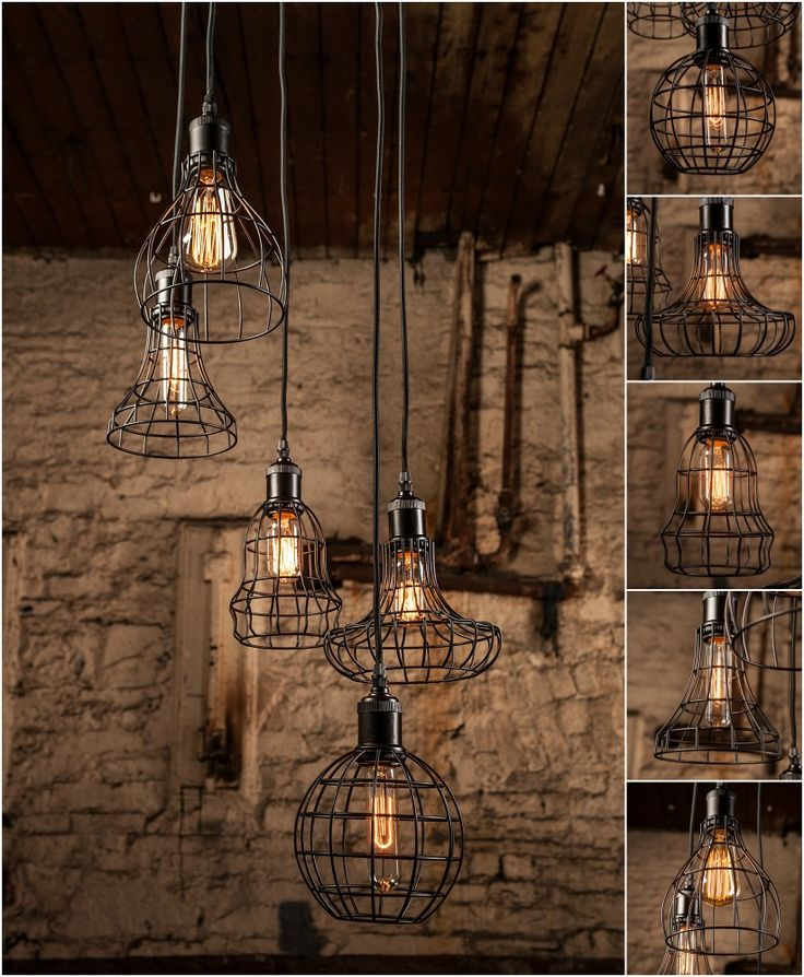 Love This Rustic Multi-drop Cage Fitting...http://www