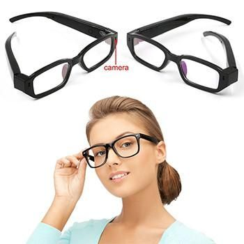 When you wearing glasses, no one would come to think it is a multi-function hidden with recorder and camera. Hidden Spy Camera, Glasses Camcorder, it allows you to record both photos and video without anyone realizing it!720x480 HD Spy E...