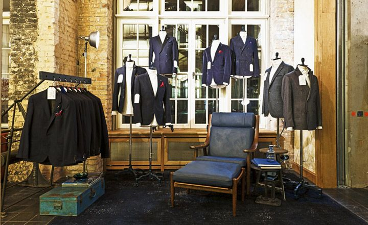 Tommy Hilfiger Tailored at 14 oz. by dfrost, Berlin store design