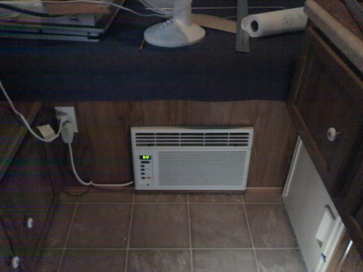 window AC unit install