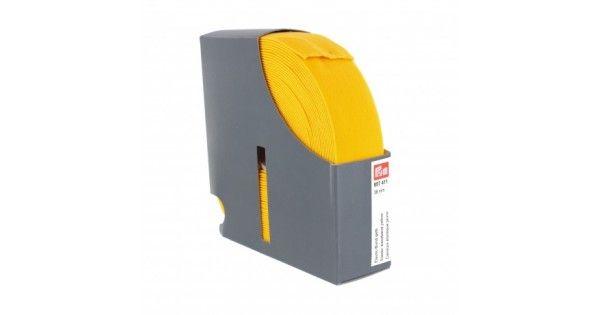 Λάστιχο Prym ζώνης με το μέτρο. (Τιμή ανά 1 Μέτρο) Χρώματος: Κίτρινο Μέγεθος: Φάρδος 38mm