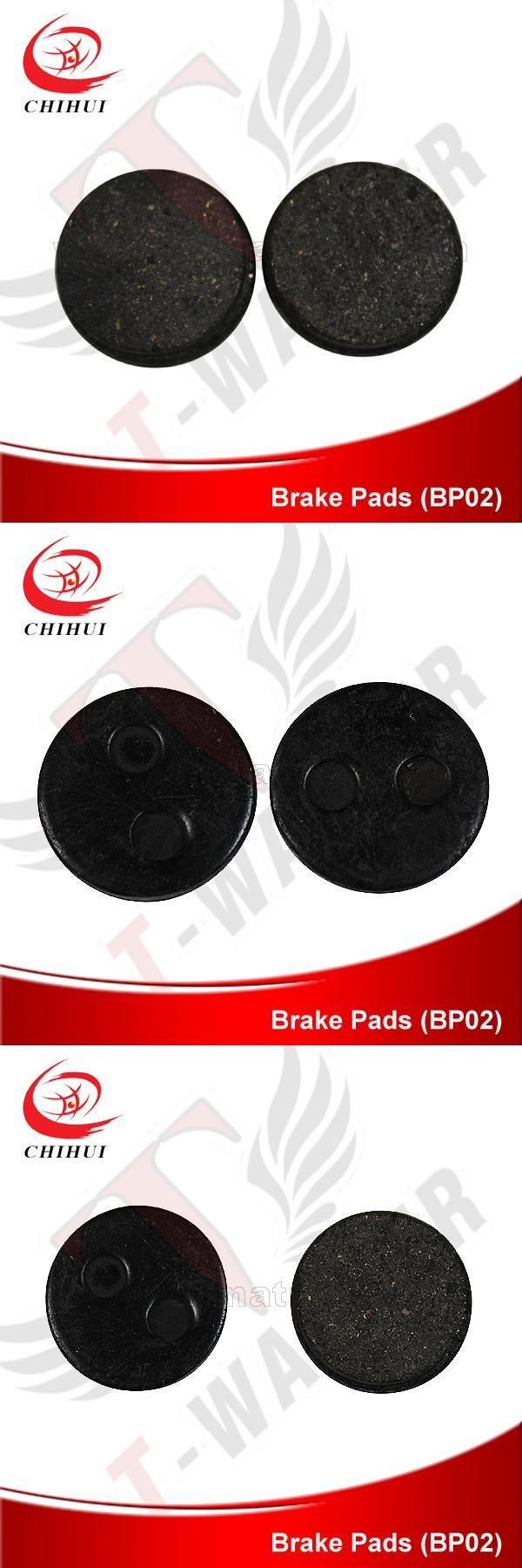 [Visit to Buy] Gas/Electric Brake Pads Disc Brake Friction Plate Small Round Brake Pads (Scooter Parts & Accessories) #Advertisement