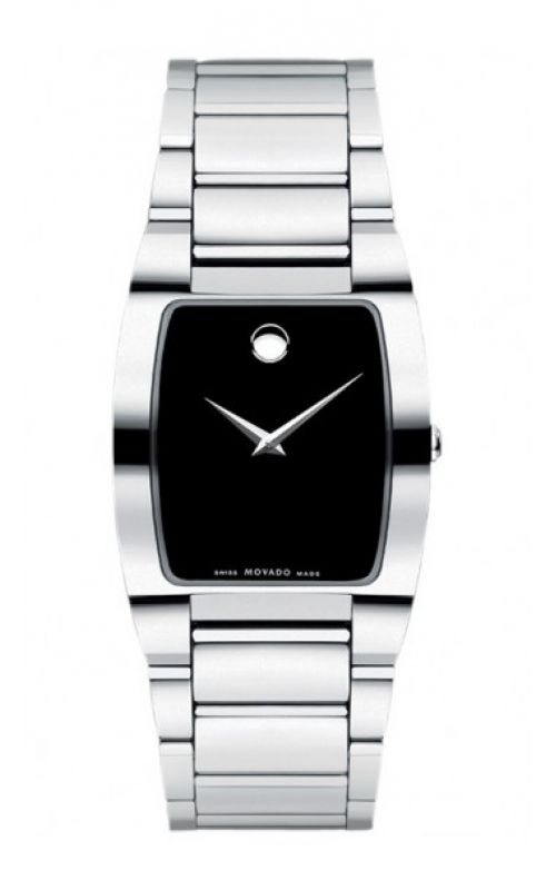 Silver black fashionable watch.  #Movado #watches #Ohio