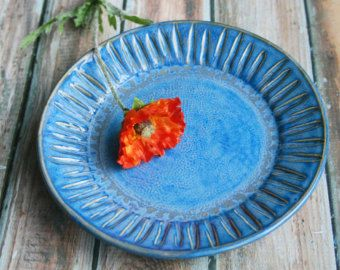 Rustic Dinnerware Place Setting Handmade Ceramic от AndoverPottery