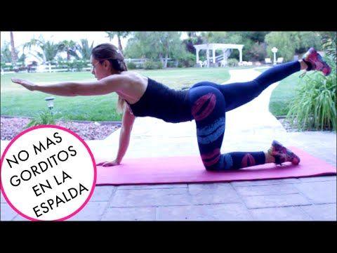 Espalda y Biceps en CASA! (RUTINA BUENISIMA!)   Naty Arcila   - YouTube