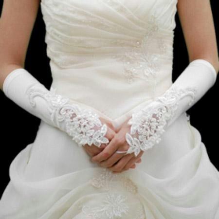 Bride gloves: