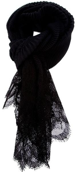 patterned scarf - Black Valentino S1kvAFkjEX