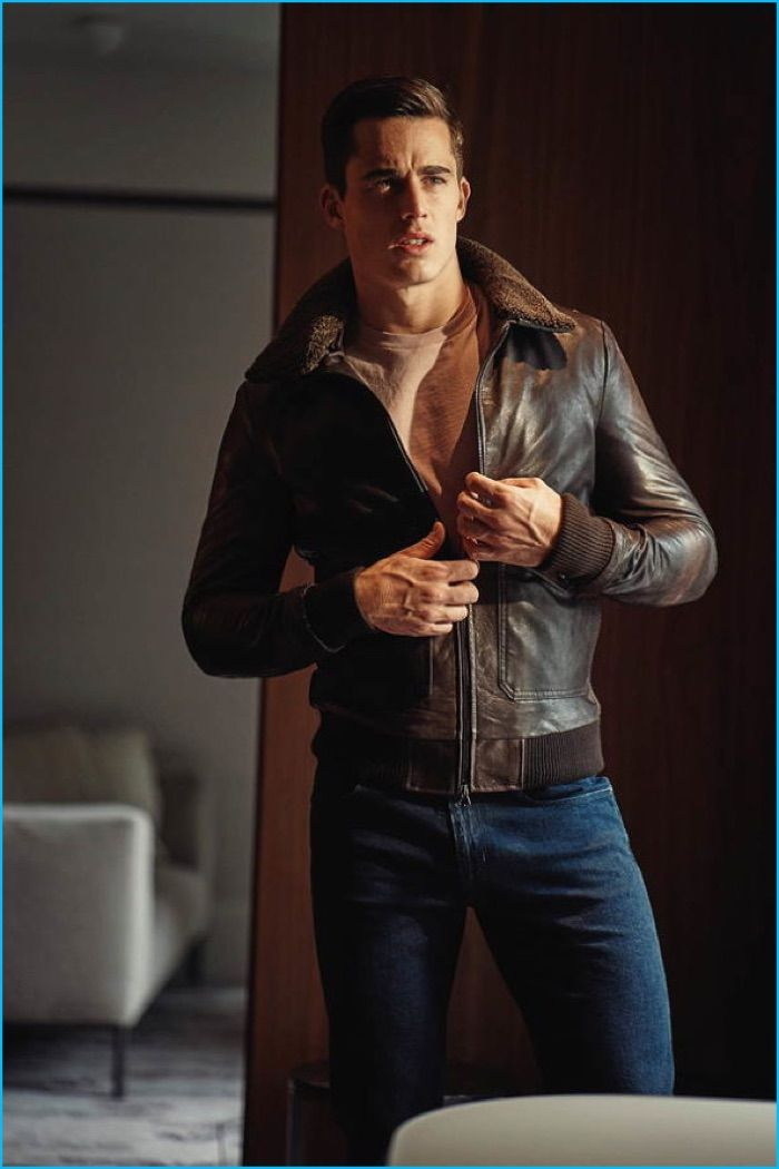 Pietro Boselli Channels 'Top Gun' Style for GQ Italia