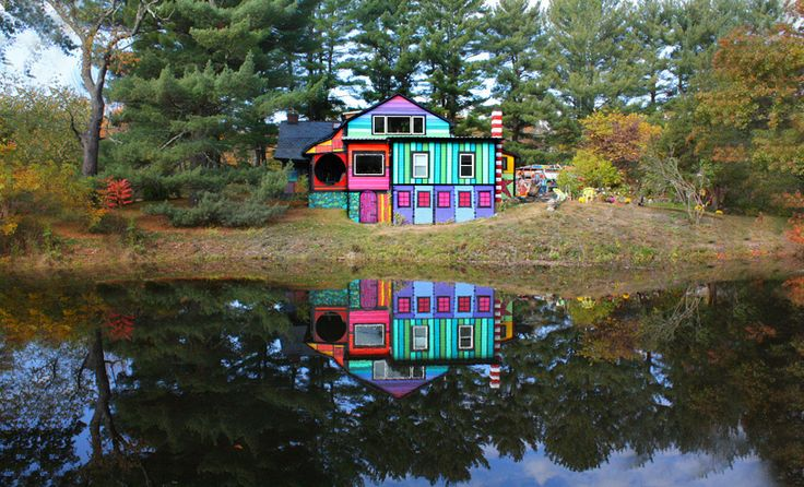 5 examples house facades tweaked art