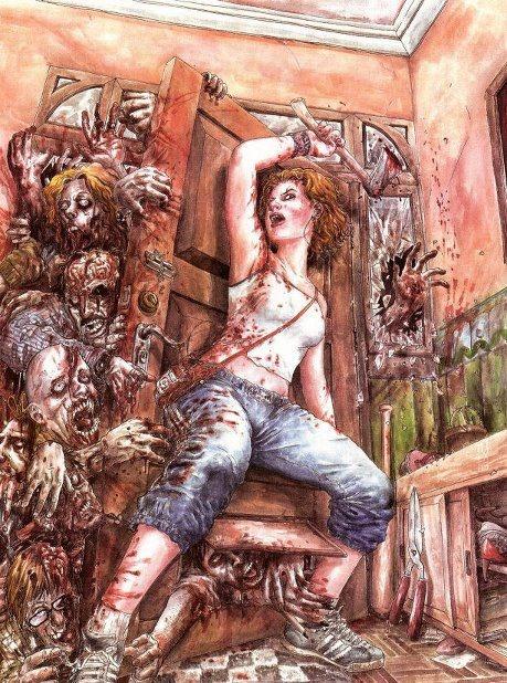 Amazing zombie art