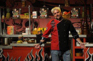 Not only is this year's big-stakes Michigan-Michigan State game drawing ESPN's Gameday broadcast to town, but also Food Network superstar Guy Fieri.