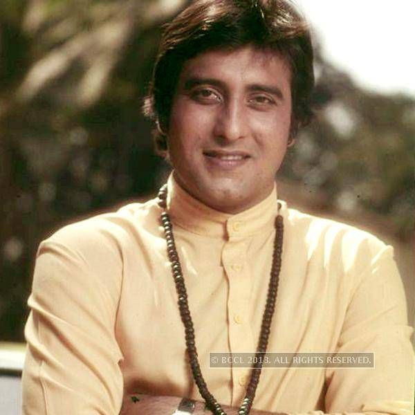 50 Handsome Hunks:100 years of Indian Cinema.  36 Vinod Khanna: Well tonned physique and cool mannerism can described Vinod Khanna perfectly who rocked the movie scene in the 70's. (BCCL)