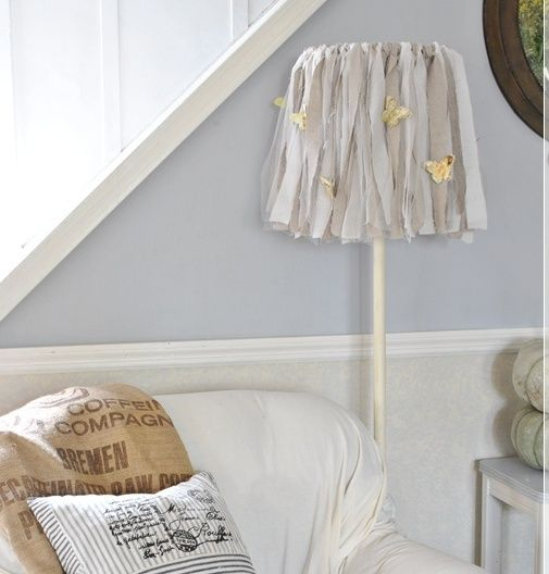 How to Make a Shabby Lampshade | Hometalk