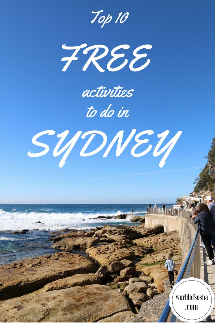 Top 10 FREE activities to do in Sydney