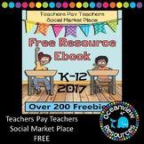 Best of Teachers Pay Teachers Marketplace EBook -200 FREEB