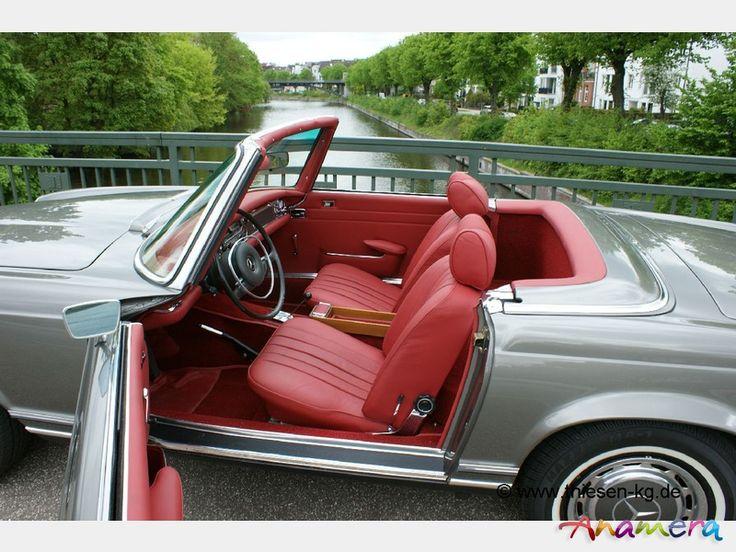 "Mercedes Pagoda For Sale | 1968 Mercedes-Benz 280SL ""Pagoda"" (W113) for sale: Anamera"
