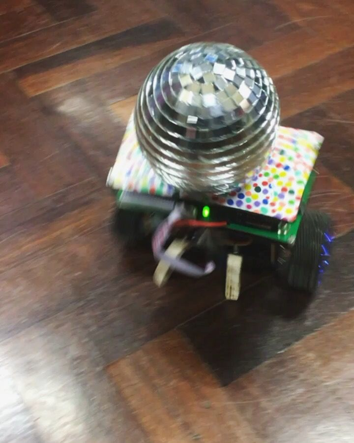 We built a self-balancing robot with some serious moves! Works on PID control and a 3-axis gyro and accrelerometer