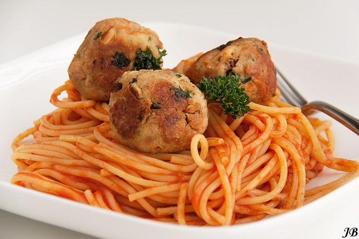 Carolines blog: Italiaanse tonijnballetjes met spaghetti