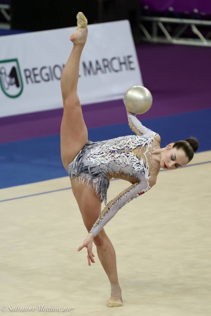 Ekaterina HALKINA (Belarus) ~ Ball @ World Cup Pesaro-Italia 2017   Photographer Salvatore Mattina.