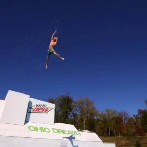 Tag somebody who would try this! | Video Credit: Devin Super Tramp #news #alternativenews