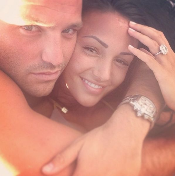 Michelle Keegan engagement ring. #perfectring