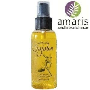 Amaris Botanicals Cold Pressed Australian Jojoba Oil 100ml - - VEGAN Friendly - CCF certified