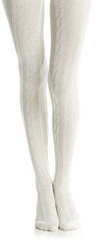 Hue Chunky Cable Knit Tights. Buy for $20 at Bon-Ton.