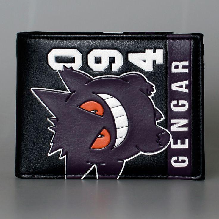 The unique Wallet Gengar Pokemon Go monsters  Merch Loot  -