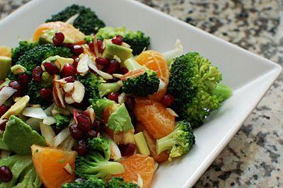 Broccoli and Fruit Salad