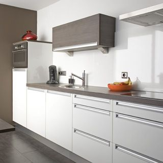 colour tops & white cupboards