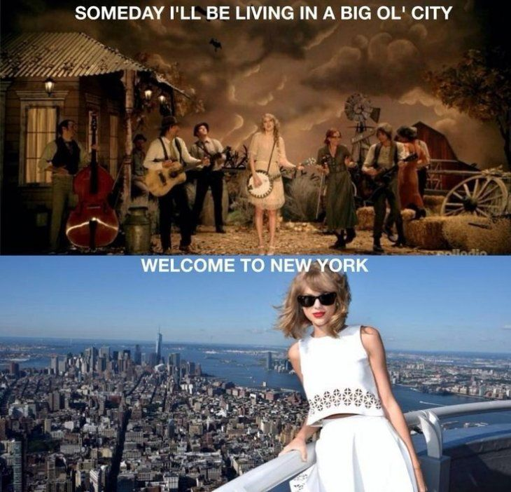 Yep. Knew it! Nice one Tay! Great job predicting the future... ...TELL ME WHERE I WILL LIVE AT YOUR AGE