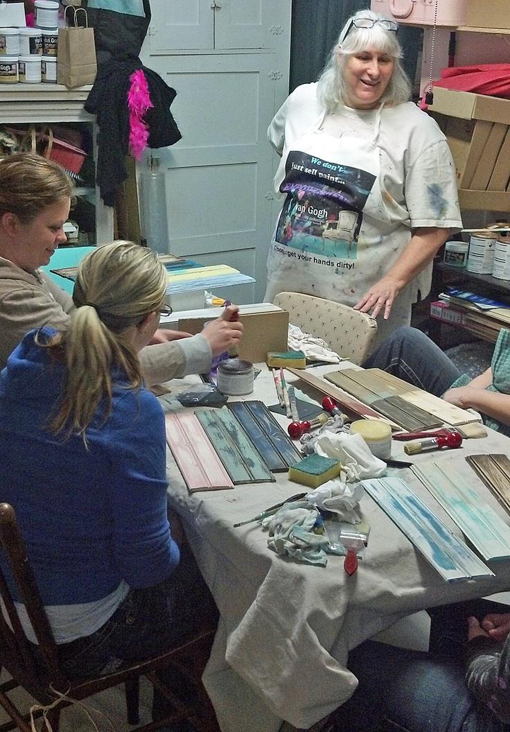 Feb/13 class with Kathy van Gogh