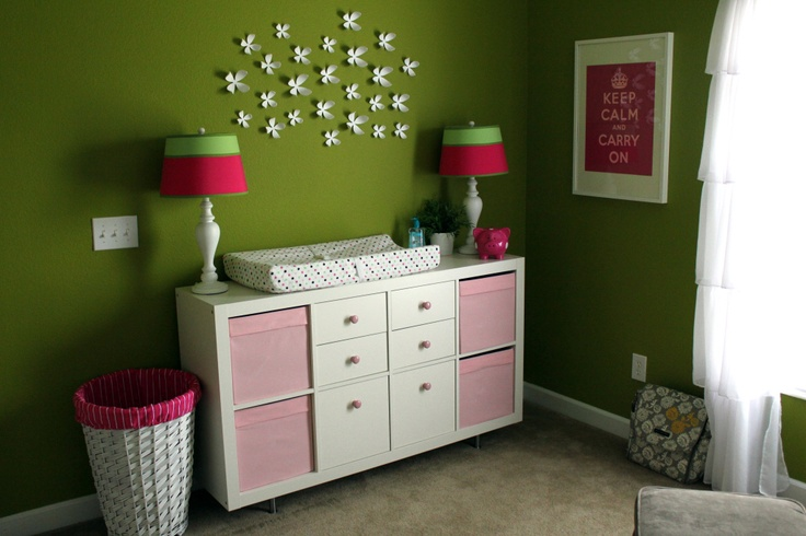 Ikea Expedit as changing table