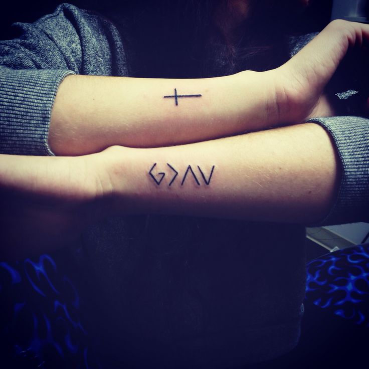 God is greater than the highs & lows, done by Eric at Hot Shots Tattoo #mine #tattoo