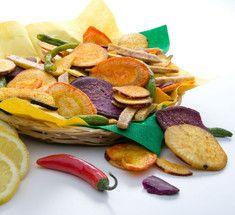 Как сделать вкуснейшие овощные чипсы в домашних условиях