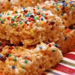 Barras de arroz inflado y malvavisco @ allrecipes.com.mx