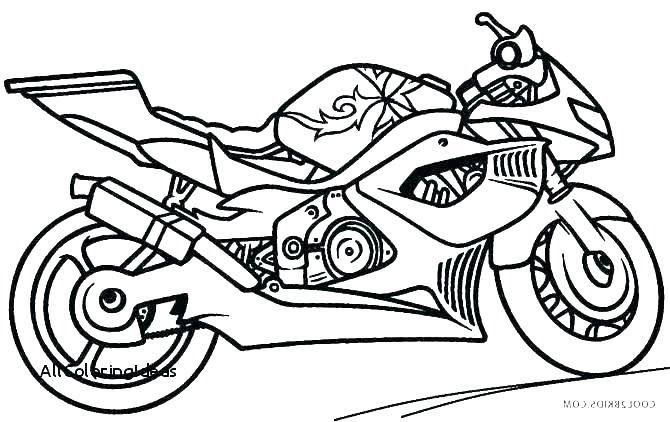 Motorbike Drawing Free Download On Clipartmag Police Motorcycle Coloring Pages Get Coloring Pages Batman Motorcycle Colori Teckning Malarbok Barn Farglagga