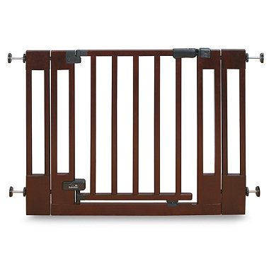 Buy Summer Infant® Top Of Stairs Wood Walk-Thru Baby Gate from Bed Bath & Beyond $69