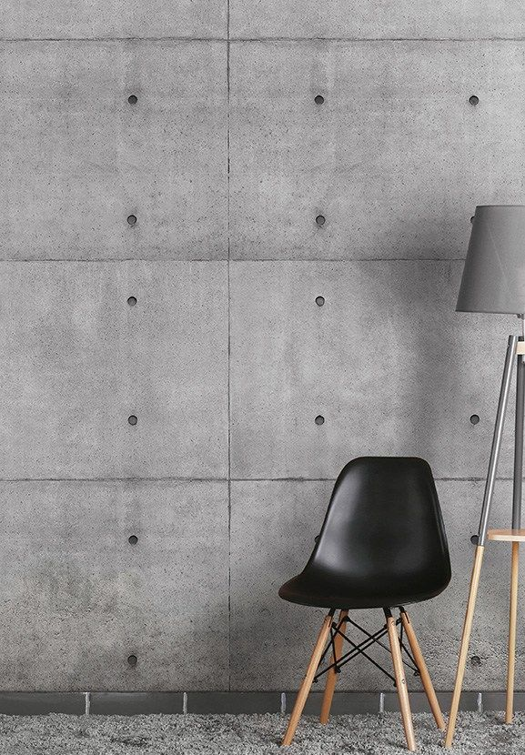 Download The Catalogue And Request Prices Of Block By Wallpepper Wallpaper With Concrete Effect Monochrome Collection Decor Wall Deco Wallpaper