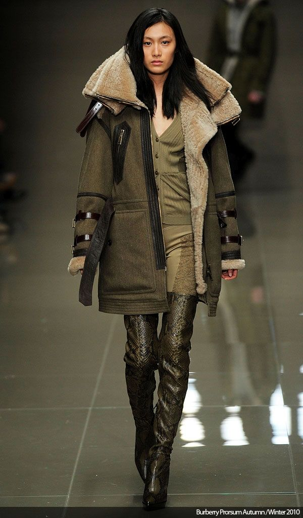 My Fashion And Trends: Military Fashion - Autumn/Fall 2010
