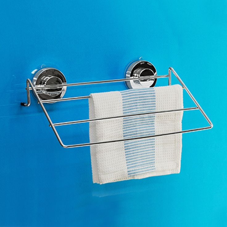 [DeHUB Super Suction-Silver] Dishtowel Hanger Gel Pad Innovative Bath & Kitchen