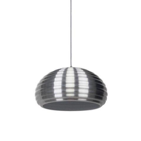 AGNES Aluminium Pendant Light - silver pendant light   SHE Lights
