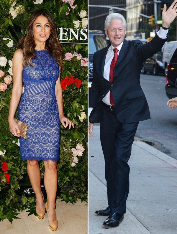 Bill Clinton & Elizabeth Hurley Had An Affair? Shocking Report