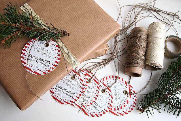 Bileciki do prezentów - zuziucha - Etykiety na prezenty