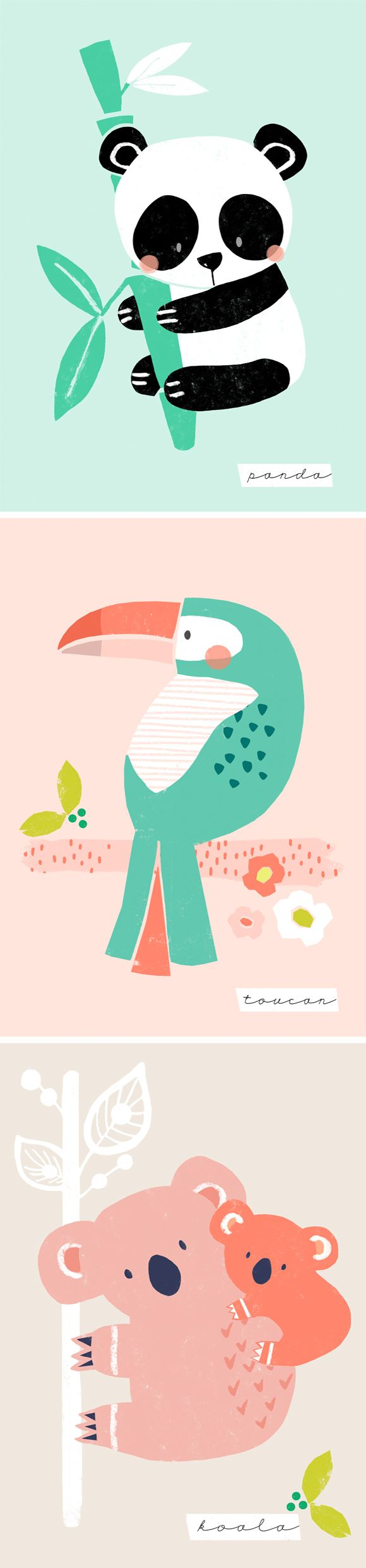 wendy kendall designs – freelance surface pattern designer » its a jungle